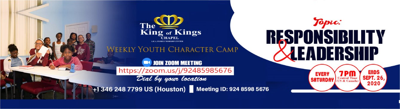 Youth Character Camp